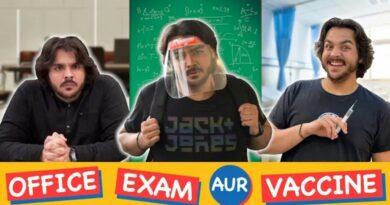 Ashish Chanchlani's Office Exam Aur Vaccine Hits 1.5 Million Likes