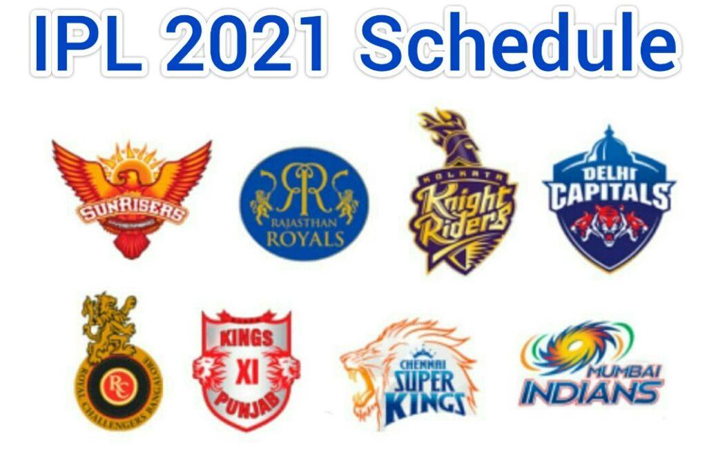 IPL 2021 Schedule PDF, Time Table, Venue