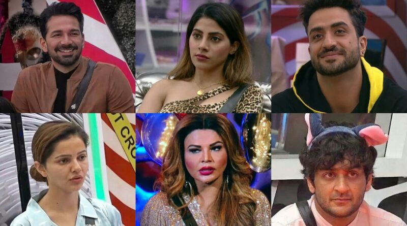 Remaining contestants of bigg boss 14, today elimination