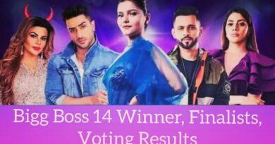 Bigg Boss 14 Winner, Finalists, Voting Results 2021