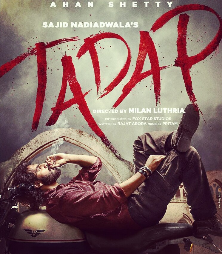 Tadap Movie Cast (2021), Release Date, Actress Name, Budget