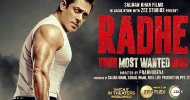 Radhe Day 4 Box Office Collection Worldwide