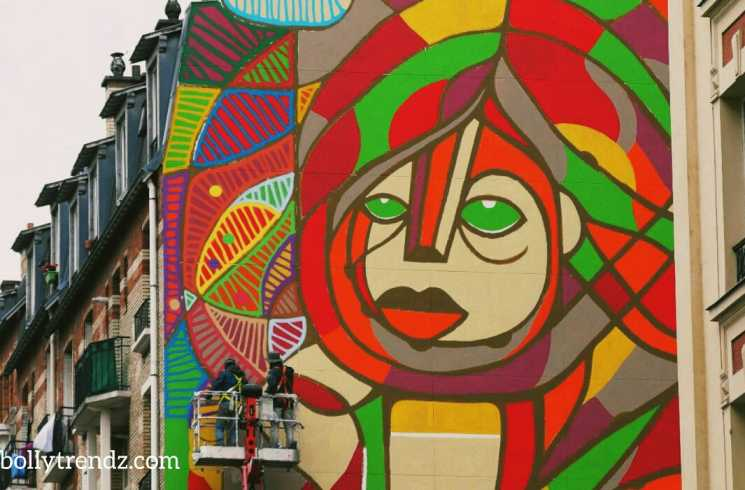 What is Giant Paris Mural (Call for Hope Painting)?